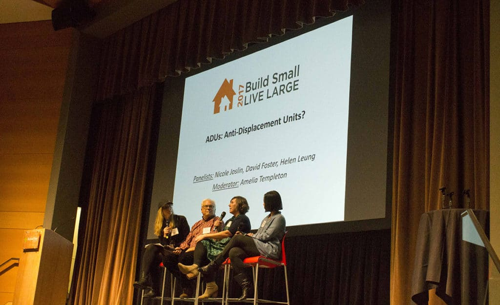 Build Small Live Large Summit ADU Conference