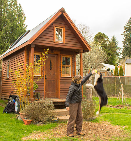 Dee Williams' tiny house on wheels